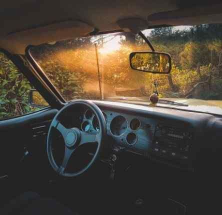 old school style car