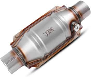 AUTOSAVER88 Universal Catalytic Converter with O2 Port and Heat Shield